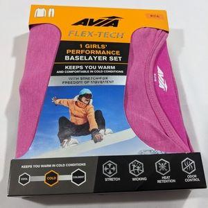 Pink thermal underwear girls cuddlduds